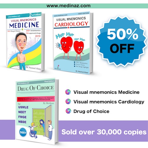 Combo pack Medicine + Cardiology + DOC