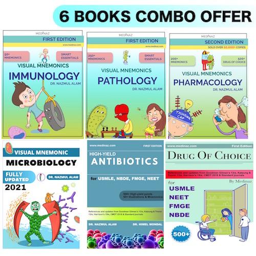 6 BOOKS COMBO